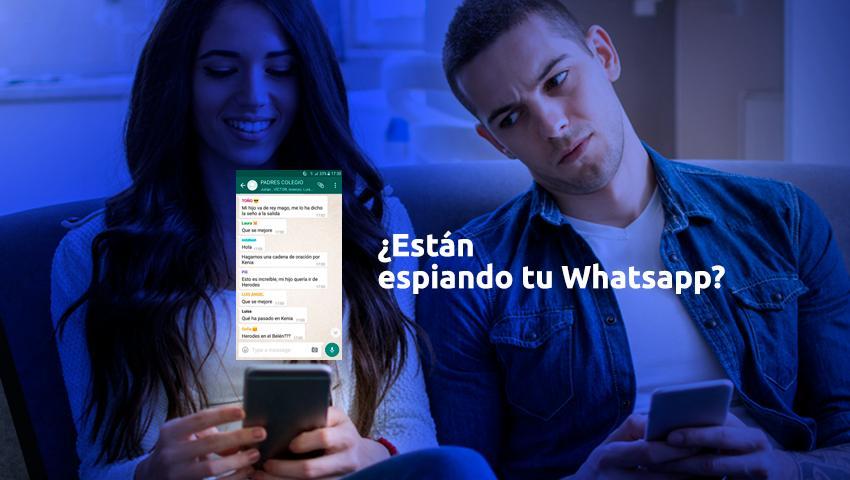 WhatsApp conversaciones espiar
