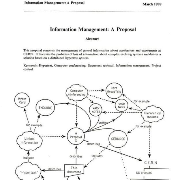 """Portada del informe """"Gestión de información: una propuesta""""."""
