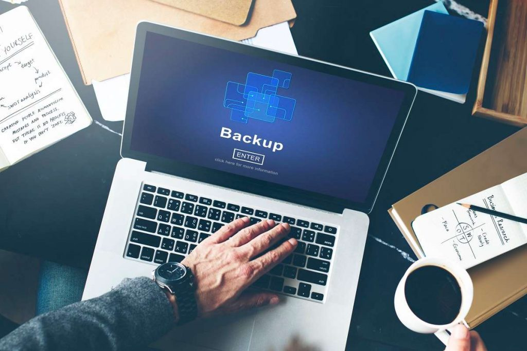 Copias de seguridad o backup