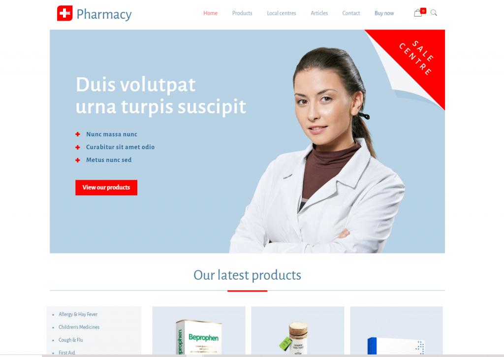 plantilla de farmacia