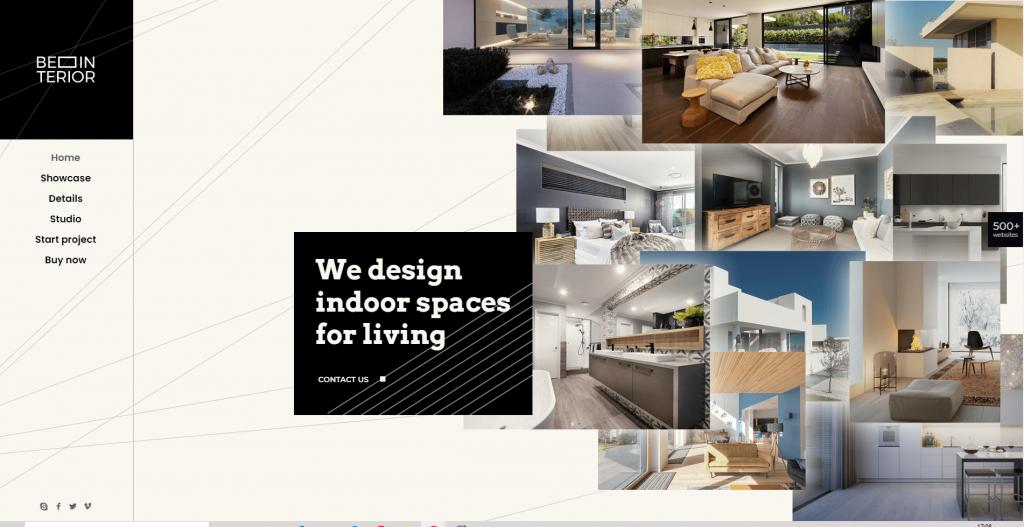 plantilla diseño de interiores