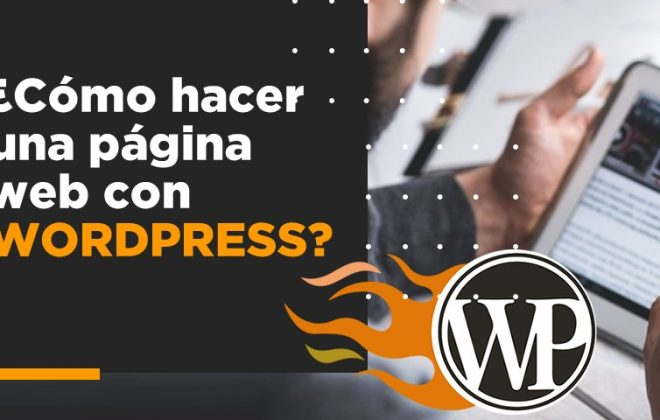 como crear sitio web wordpress